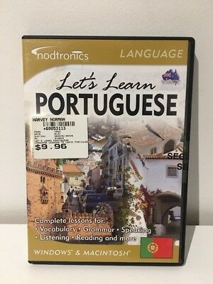 Let's Learn Portuguese PC CD-ROM