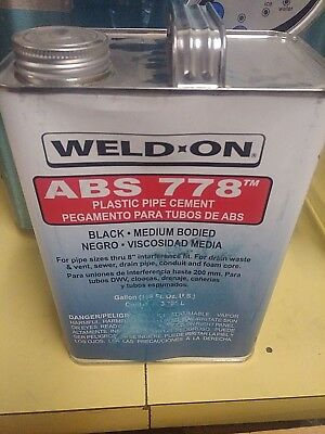 Weld-On 778™ ABS Medium Bodied Plumbing Cement Gallon