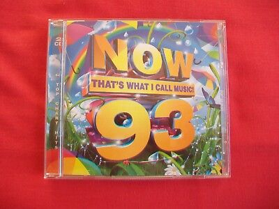 Now That's What I Call Music - 93 - 2 Cd's -2016, Excellent Condition