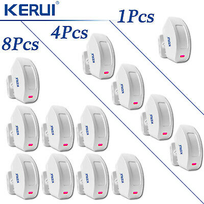 KERUI P817 PIR Wireless Motion Detector Curtain Sensor Lot For Home Alarm System