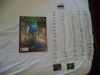 Merlin Batman  Sticker Album And Sticker Lot  1995