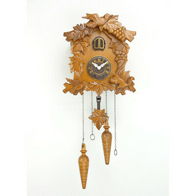 Vintage Wooden Cuckoo Clock Wall Home Décor Art Decoration Bird Alarm Clock Gift