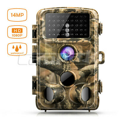 Campark Trail Wild game Camera 14MP FHD 1080P Waterproof IR Hunting Night Vision