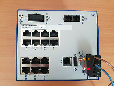 Hirschmann RS-20 Rail Switch - 16 Port