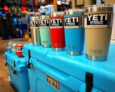 Rambler 20 OZ Stainless YETI Steel Vacuum Insulated Cup with MagSlider Lid