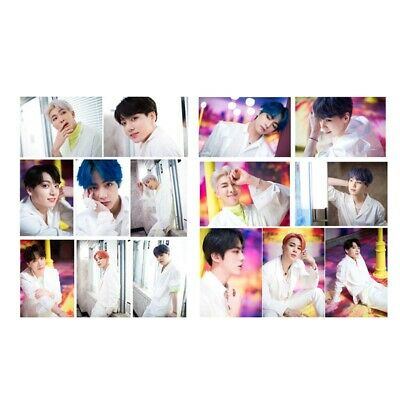 15pcs KPOP BTS Bangtan Boys Card Stickers Photo Album MAP OF THE SOUL : PERSONA