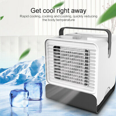 AU NEW Portable Mini Air Conditioner Cool Cooling For Bedroom Cooler Fan 2#