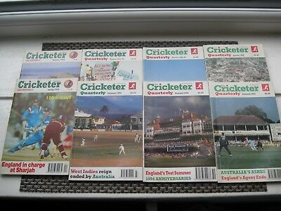 8 Editions 1993 to 1998 The Cricketer International Quarterly Facts and Figures