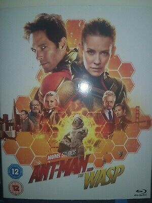 Ant-Man And The Wasp Blu RAY (Marvel Studios)