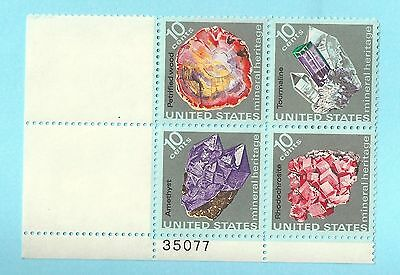United States Mineral Heritage Issue Stamps 1974