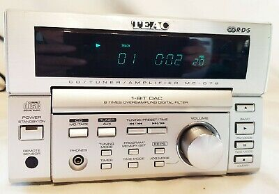 Teac MC-D78 Micro Hifi CD Tuner Amplifier  Hifi Seperate (GWO) QQ
