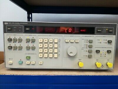 HP Hewlett Packard 3326A Two Channel Synthesizer Zweikanal-Signalgenerator! Top!