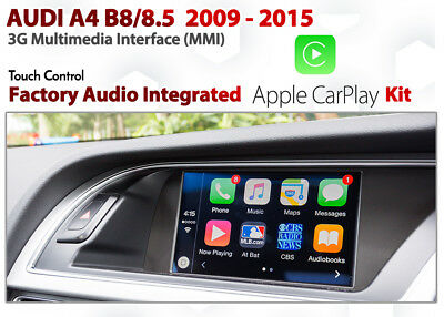 AUDI A8 D4 2011 - 2017 3G MMi Plus Integrated rotary control Apple