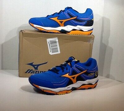 big sale 8da3a 5e67c Mizuno Wave Enigma 3 Mens Sz 11 Blue Orange Lace Up Athletic Running Shoe  YB-