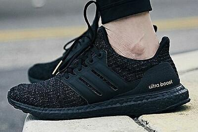 11f208cd3c286 Adidas Ultraboost 4.0 Triple Black Gold Size 8 9 10 11 12 Mens Shoes F36123  NMD
