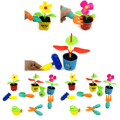 18Pcs Kids Pretend Role Play Toy Set Garden Tools for Toddlers Kids Presents