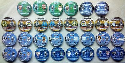 European Cup Match Badges Clubs from Deutschland Germany DDR 1955 - 2017