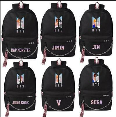 Luggage & Bags Twice Monstax Backpack Bag Exo Cute Bag Got7 Bookbag Student Back To School Special Buy