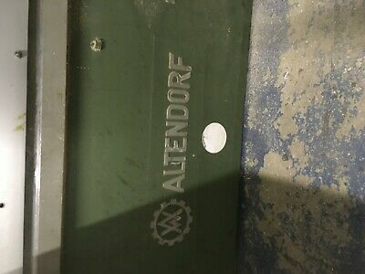Altendorf table saw with 3 extractor dust bags