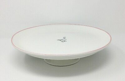 Mary Berry Collection, Fine China Cake Stand, White, Pink - 30cm diameter