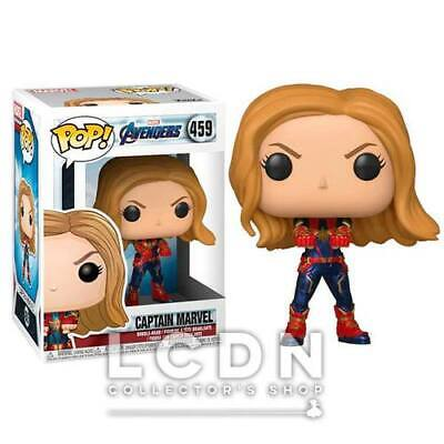 Avengers Endgame POP! Movies Captain Marvel Vinyl Figure 10cm n°459 FUNKO
