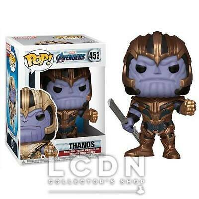 Avengers Endgame POP! Movies Thanos Vinyl Figure 10cm n°453 FUNKO