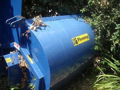 Fleming Mini Muck Manure Spreader With Prop Shaft Ideal Smallholding Etc