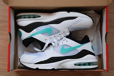 NIKE AIR MAX 93 SZ 10 EU 44 306551 107 Black Dusty Cactus