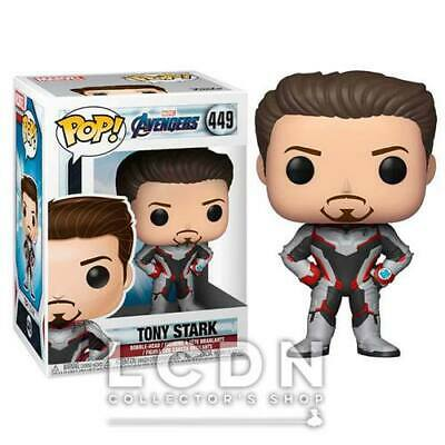 Avengers Endgame POP! Movies Tony Stark Vinyl Figure 10cm n°449 FUNKO