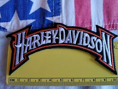 Toppa Patch Ecusson Abzeichen Moto Harley Davidson  Motorc Ycle  Thermoaderente