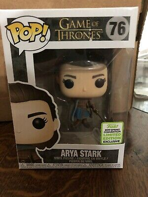Funko Pop! Game of Thrones: ARYA STARK ASSASSIN #76 (2019 ECCC Shared Exclusive)