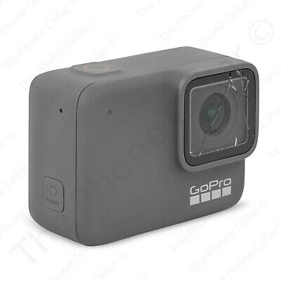 Cracked Lens! GoPro - HERO 7 Silver HD Action Camera (Silver)