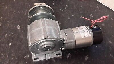 parvalux reduction gearbox motor 24 volt dc variable