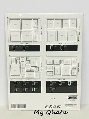 Ikea Matteby Wall Template For Hanging Picture Frame Collage At Home School Work
