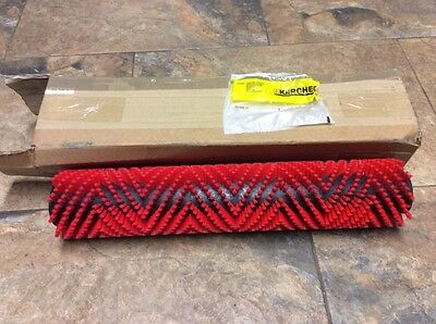 Karcher Red Roller Brush For Scrubber Dryer Walk Behind Part No 5.762-348.0