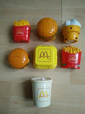McDonald's Transforming Happy Meal Toys Collection 1990
