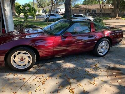 1993 Chevrolet Corvette ZR1 1993 Corvette ZR1 40th Anniversary