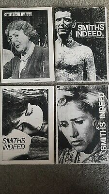 The Smiths  / Morrissey Smiths Indeed Fanzine issues 1-4 very rare+collectable