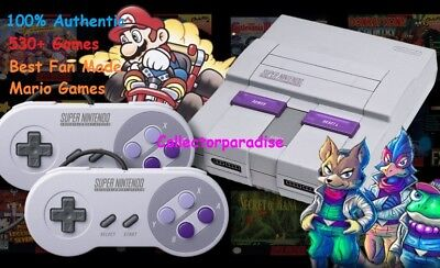 Super Nintendo Classic Edition Console SNES Mini System 530+ Games! NES! NEW!!!