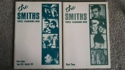 The Smiths  / Morrissey Those Charming Men part 1+2 very rare A4 in size