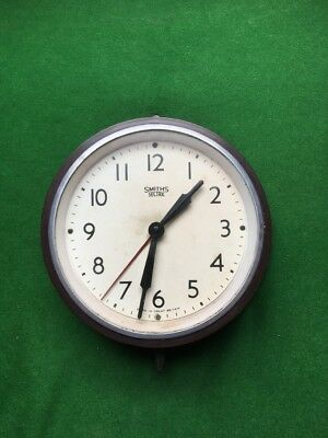 smiths sectric bakelite electric clock vintage
