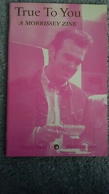 The Smiths - Morrissey True to You USA Fanzine issue two Winter 1995 *