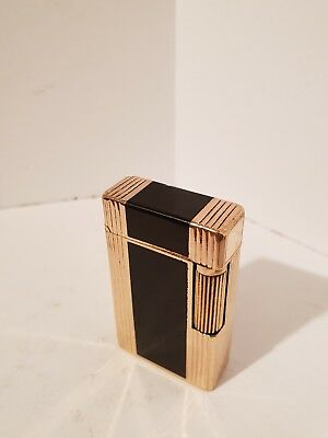 Accendino lighter Dupont D57 In lacca nera