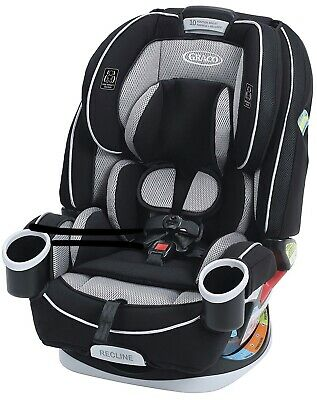 Graco 4ever All-in-One Convertible Car Seat, Matrix 1948314 - Preowned