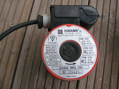 EURAMO SALMSON Central Heating Pump Head  Model MXL130 2356204