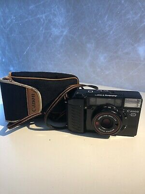 CANON Autoboy 2 AF35M II Sure Shot QD Compact 35mm Vintage Film Camera TESTED