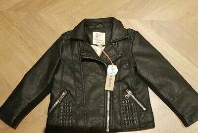 River island faux leather jacket Age 18-24 Months Bnet