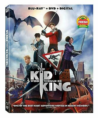 The Kid Who Would Be King - Blu Ray, 2019, with SLIP COVER and Activity Sheets