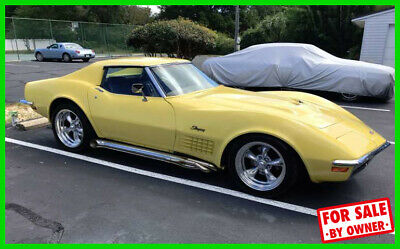 1971 Chevrolet Corvette Stingray 1971 Chevrolet Corvette Stingray 350 HP 8-Cylinder Automatic RWD Custom c84329