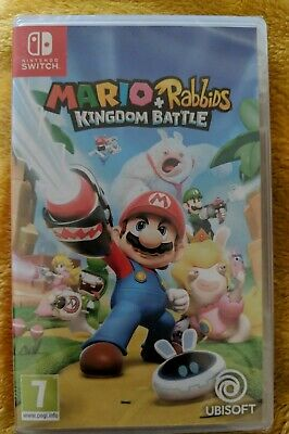 """Nintendo Switch Game """" MARIO + RABBIDS Kingdom Battle """"  New and Sealed #party #"""